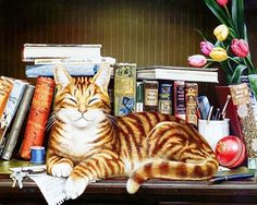 Lovely Cat Paintings