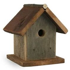 ... like old barn I use it to produce simple rustic birdhouses and bi