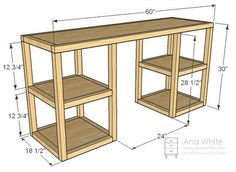diy desk... remove metal rack and make one of these?