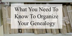 A successful genealogy organization system is one you build for yourself and use consistently.  You may get ideas from others but there is no one correct or magical way to organize your genealogy files.
