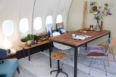 Spacious Airplane Apartment - After 3675 flights all over the world, KLM and AirBnB offer KLM's last MD-11 as a 366 m2 rental apartment at Schiphol for a few days...