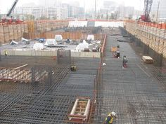 See related links to what you are looking for. Mat Foundation, Steel Bar, Civil Engineering, Street View, Construction, Google Search, World, Building, Buildings