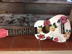 Hand painted ukulele   By Kiana McCurry