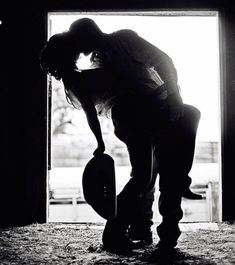 Cowboy engagement idea...I want a picture like this.