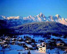 Mooi, rustig en sfeervol skigebied - Seefeld Oostenrijk