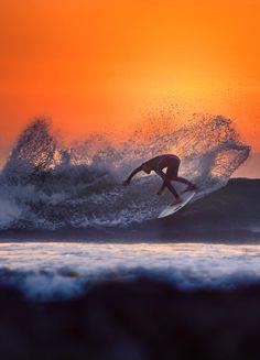 Dana Point, rising sun