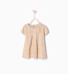 Imagem 1 de Vestido malha laço da Zara