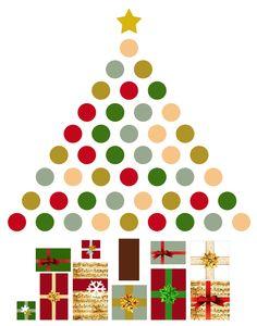 Árvore de Natal Adesivo - a venda na Loja do Blog - http://www.lojadoblog.com
