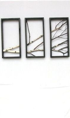 Outstanding 15 DIY Wall Decoration Ideas for Your Home. It's Time For You To Change… The post 15 DIY Wall Decoration Ideas for Your Home. It's Time For You To Change…… appeared first on Derez Decor . Art Mural 3d, 3d Wall Art, Art 3d, Tree Branch Art, Tree Branches, Branch Decor, Tree Wall, Art Rustique, Diy Wanddekorationen