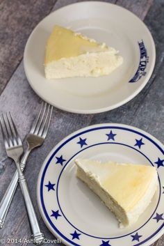This is a super rich, creamy, tangy, no frills, crustless Italian-style cheesecake. It was a HUGE hit with everyone at the table. And it was much easier than I had anticipated to prepare!