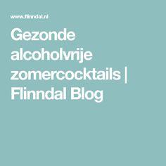 Gezonde alcoholvrije zomercocktails   Flinndal Blog