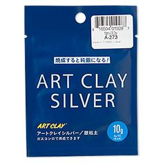 Art Clay� Silver, low fire, slow dry formula. Sold per 10-gram pkg.