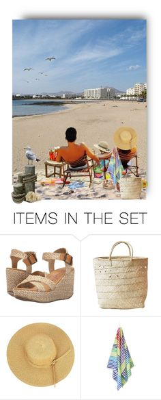 """Hello Summer !"" by auntiehelen ❤ liked on Polyvore featuring art"
