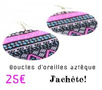 Bijoux du monde - world jewelry chez bijouxcherie.com boucles d'oreilles en nacre fragiles - shell earrings