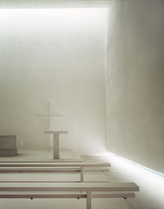 Interior of the Kirchenzentrum in Uetikon am See by Daniele Marques. Beautiful lighting.