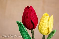 Ravelry: Tulip Flower pattern by Happy Patty Crochet