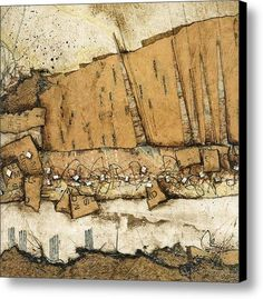 Leaning towards tomorrow Canvas Print by Laura  Lein-Svencner