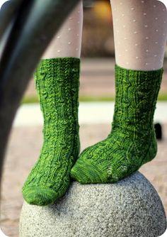 Phloem socks by Rachel Coopey