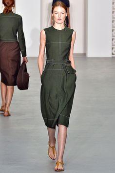 Olive khaki dress