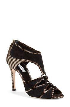 L.K. Bennett 'Mia' Peep Toe Sandal (Women) available at #Nordstrom