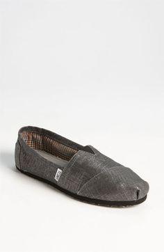 TOMS Metallic Linen Slip-On (Women) available at #Nordstrom