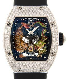 Richard Mille Tourbillon Tiger And Dragon Ladies Watch