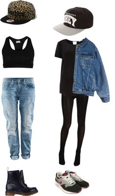 """""""Hiphop outfits"""" by mellows ❤ liked on Polyvore"""