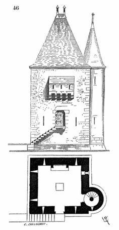 Maison.medievale.Bordeaux