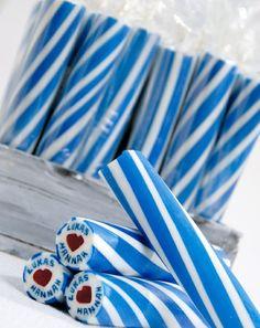 Wenn Sie gerade ein individueles Geschenk für Ihre Gäste suchen, wäre diese Pfefferminzstange eine gute Wahl!