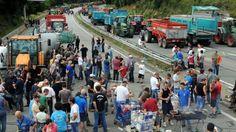 Blokady dróg między Lille i Paryżem #popolsku