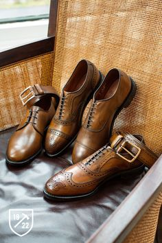 Kenilworth in Bourbon - Plain-toe Lace-up Oxford Men's Dress Shoes