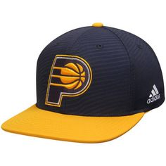 ca807e2d3b3 Indiana Pacers adidas Energy Stripe Snapback Adjustable Hat - Navy Gold  Navy Gold