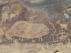 IMAGES: Nine Mile Canyon in Utah petroglyph, pictograph sites - Gallery - TheDenverChannel.com