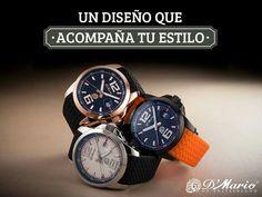 Un buen diseño es inteligencia y elegancia, quién te hace marcar la diferencia ante al mundo con nuestra #PrecisiónSuiza. #RelojesDMario #YoAmoDMario Vísitanos en www.dmario.com