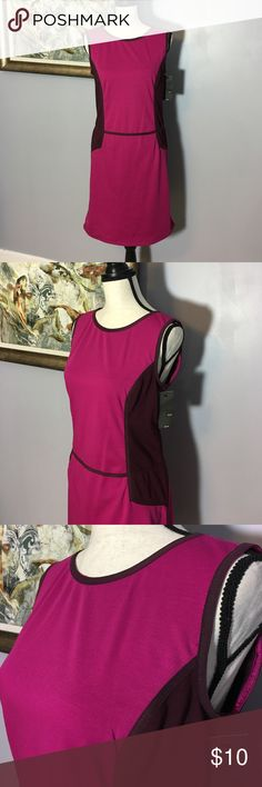 NWT Mossimo Colorblock Dress Excellent Condition.  New With Tags.  Size M. Perfect for Valentines Day! Mossimo Supply Co Dresses