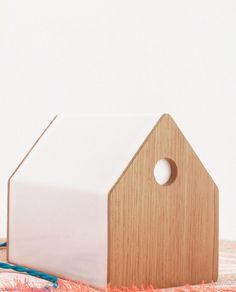 Image of maison lumineuse • lamp /\