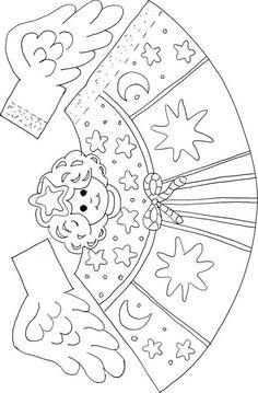 Inspirace pro vánoční tvoření s dětmi Christmas Arts And Crafts, Christmas Activities, Christmas Printables, Christmas Colors, Christmas Projects, Holiday Crafts, Christmas Holidays, Angel Crafts, Theme Noel