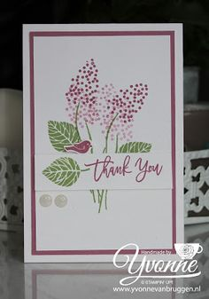 Yvonne is Stampin' & Scrapping: Stampin' Up! Thoughtful Branches #stampinup