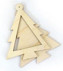 Pine Tree Laser-cut Ornament