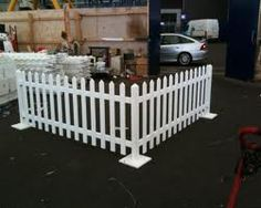 No Posts Picket Fence Ideal Events Shows Moveable Free