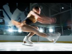 Figure Skater's landing force is about 5-8 times his/her body weight. Runner's force is typically 2-3 times body weight.