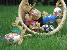 Easter eggs offered by My Poland online store is artistic work of Easter decorations inspired by Polish folk art – a beautiful ornament of your home Egg Decorating, Interior Decorating, Polish Folk Art, Easter Season, Hand Engraving, Handicraft, Easter Eggs, Christmas Bulbs, Decoration