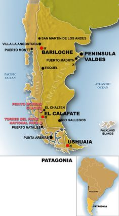 Patagonia Map Google Search Patagonia Chile Argentina - Argentina map google earth