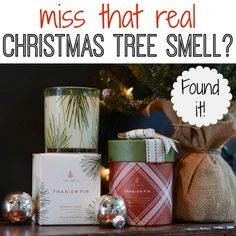 Miss that real Christmas tree smell with your artificial tree! Here's how to add it back to your home this holiday season!