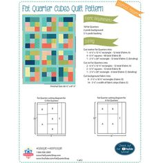 Looking for free quilt patterns and tutorials for beginners to inspire you and help you get started? Choose from hundreds of different free patterns from Fat Quarter Shop. Browse our most recent patterns today! Beginner Quilt Patterns Free, Quilting For Beginners, Quilting Tips, Quilting Tutorials, Quilting Projects, Quilting Fabric, Sewing Projects, Machine Quilting, Craft Projects