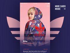 50 User profile page — Design Inspiration