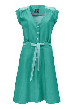 Christel kjolen, min pt favorit kjole. Smuk og klar i farven, lækker retro feel og super god pasform.