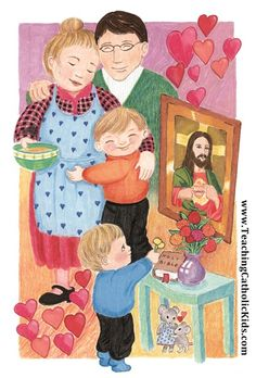 Is your home a 'domestic church'? Donna-Marie Cooper O'Boyle has help for making your house an 'island of Christian life' with prayers, traditions, consecrations, and more! Marriage And Family, Family Day, Sunday School Kids, Catholic Religion, Catholic Kids, Little Books, Christian Life, Homeschool, Relationships