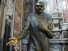 "Stanze Moscati in the church of Gesù Nuovo in Naples - Bing Images ~ ""If you place your hand in Moscati's palm you can offer your gratitude, say a prayer, or ask him for a healing miracle. .."""