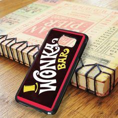 Willy Wonka Chocolate Bar Samsung Galaxy S6 Edge Plus Case